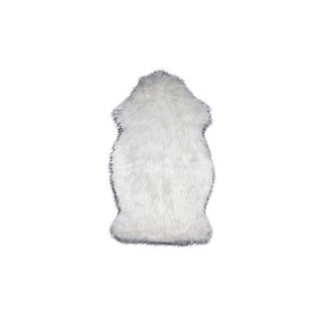 Fake fur tæppe