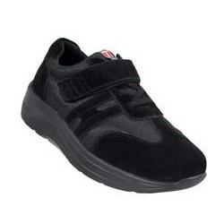 Go Easy sort sko med velcro
