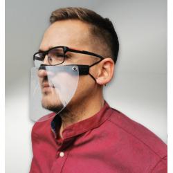 Halvvisir - Mini ansigtsskærm