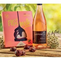 Coca vin og Petit Melo