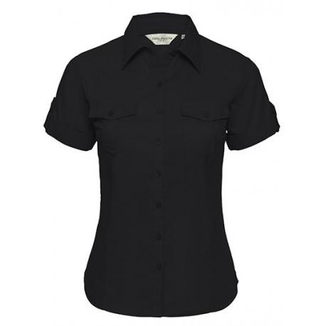 Roll short sleeve dame skjorte