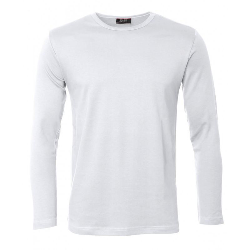 Game Interlock herre T shirt m. lange ærmer web butik.info