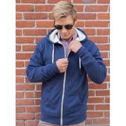 Sherpa Lined Zip Hooded Jacket