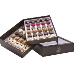 Aalborg Chokoladeæske med 2 lags chokolade