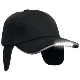 Leditsee - basic cap med ørevarmer
