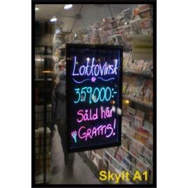 LS1 Lightsigns - indendørs skilt med LED-lys