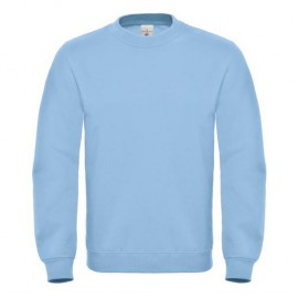 B&C. Sweatshirt med rund hals.
