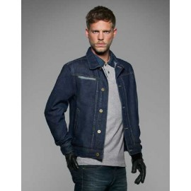 B&C - Herre denim jakke