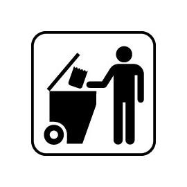 IC Skilte - Affald