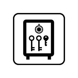 IC Skilte - Nøgleskab