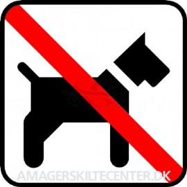 IC Skilte - Hund ikke tilladt