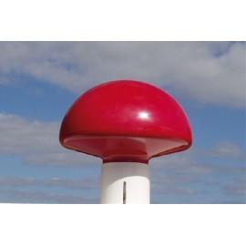 Rød flagknop