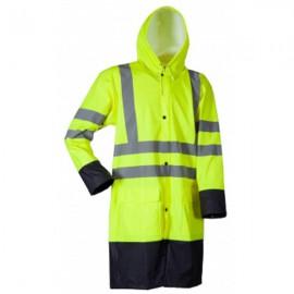 Lyngsøe - Microflex Hi-Viz regnjakke